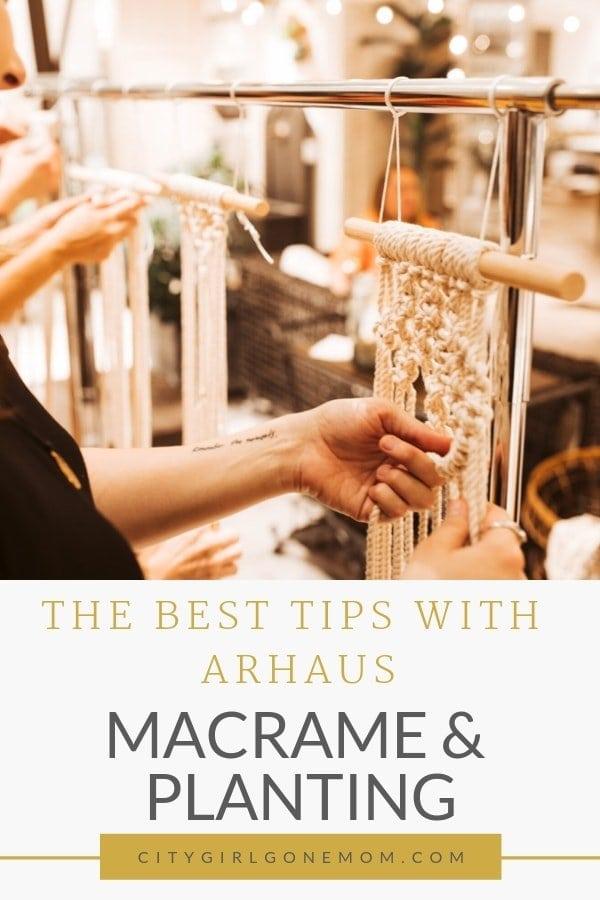 macrame crafting