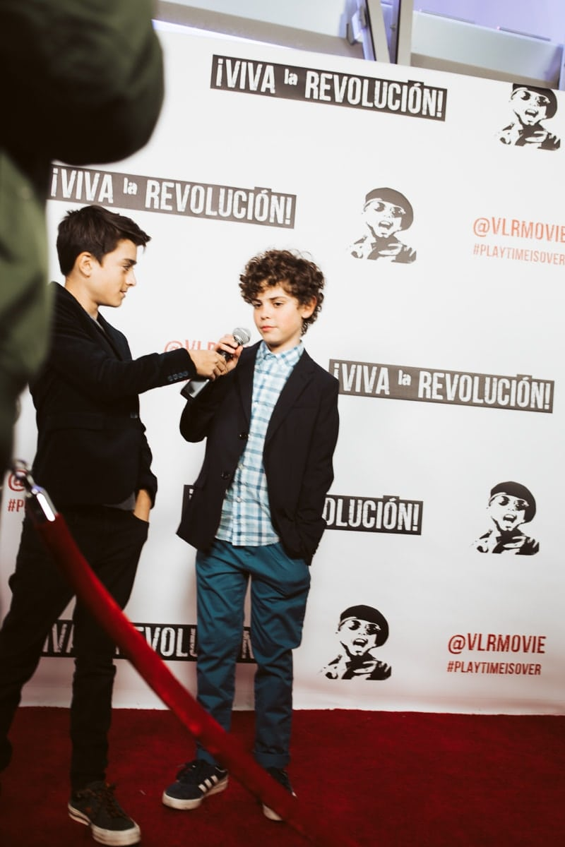 kids red carpet interview