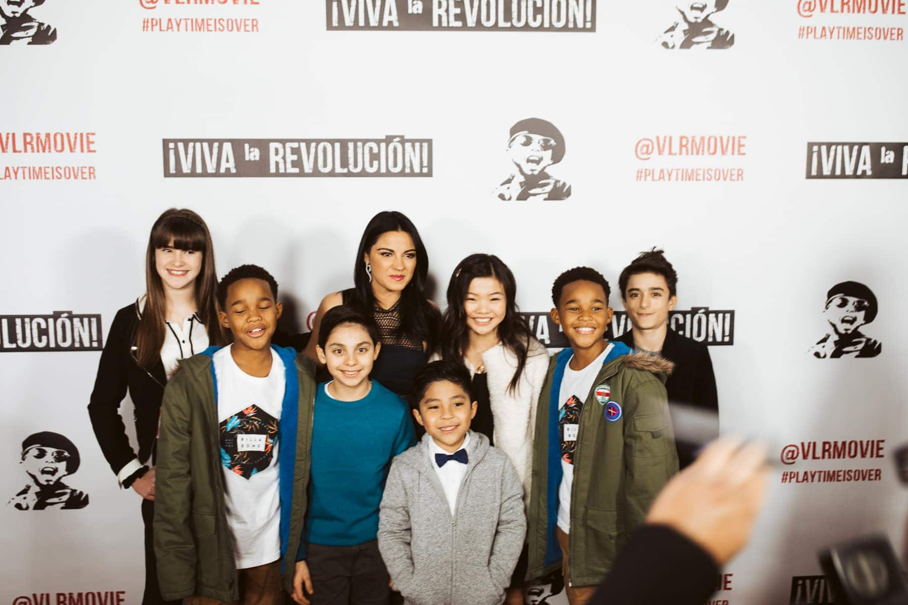 kids red carpet movie premiere