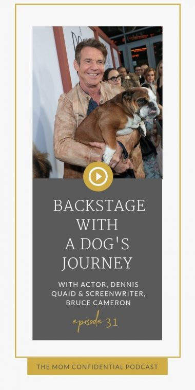 Backstage With A Dog's Journey