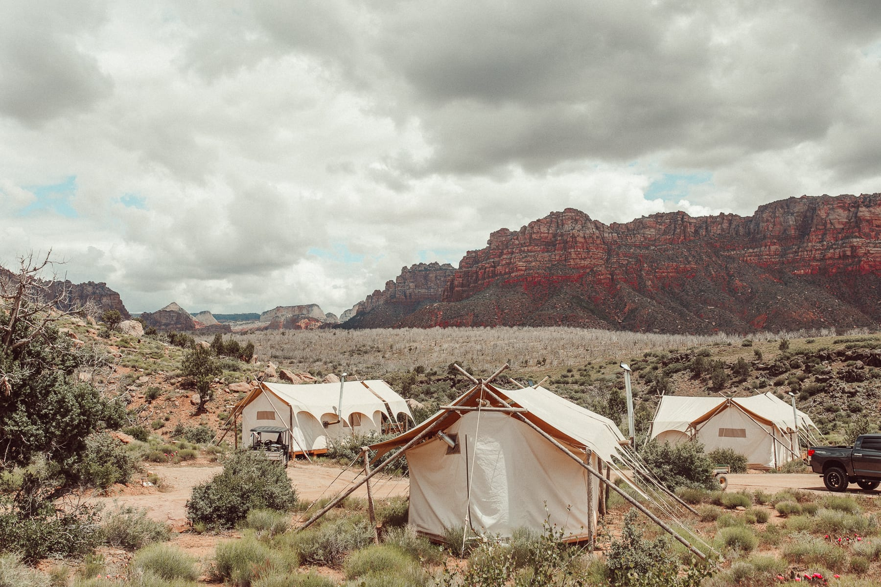 glamping zion