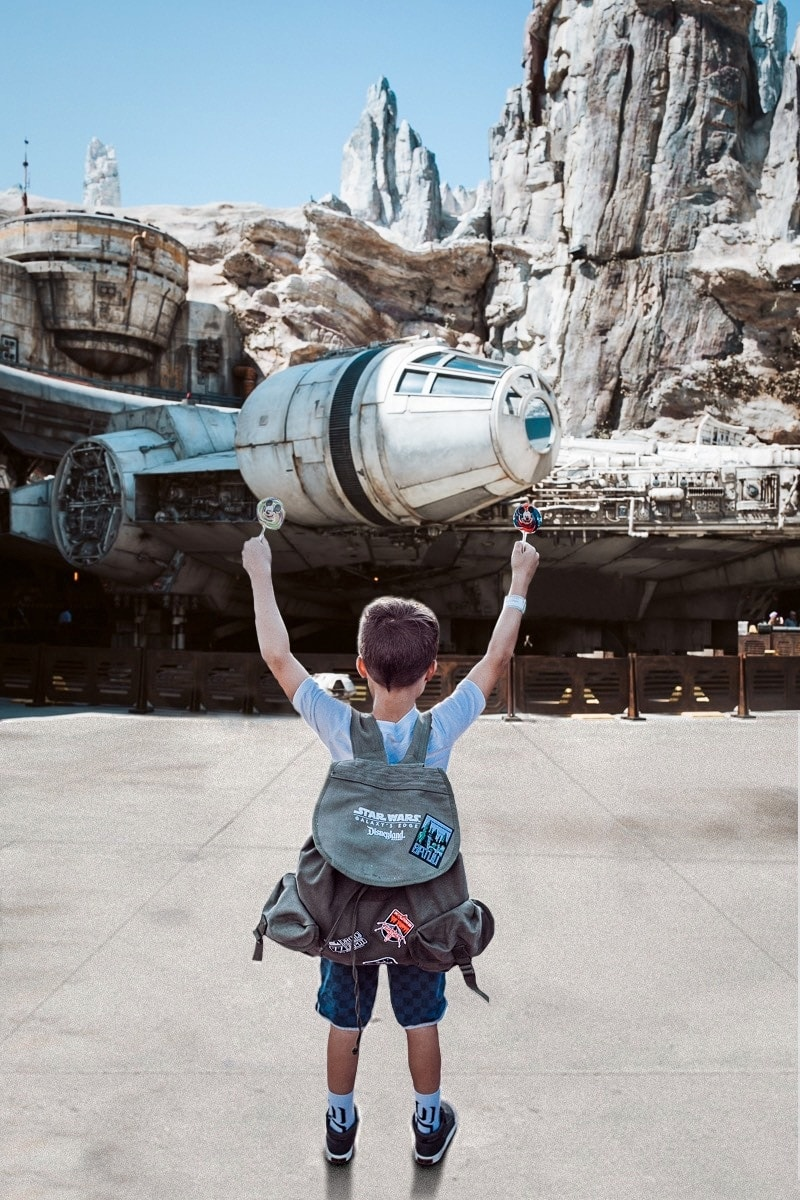 Boy At Galaxy's Edge