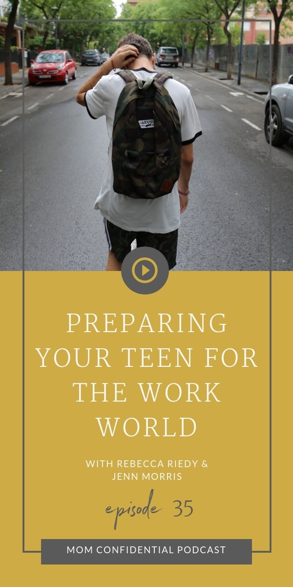 Preparing Your Teen For the Work World