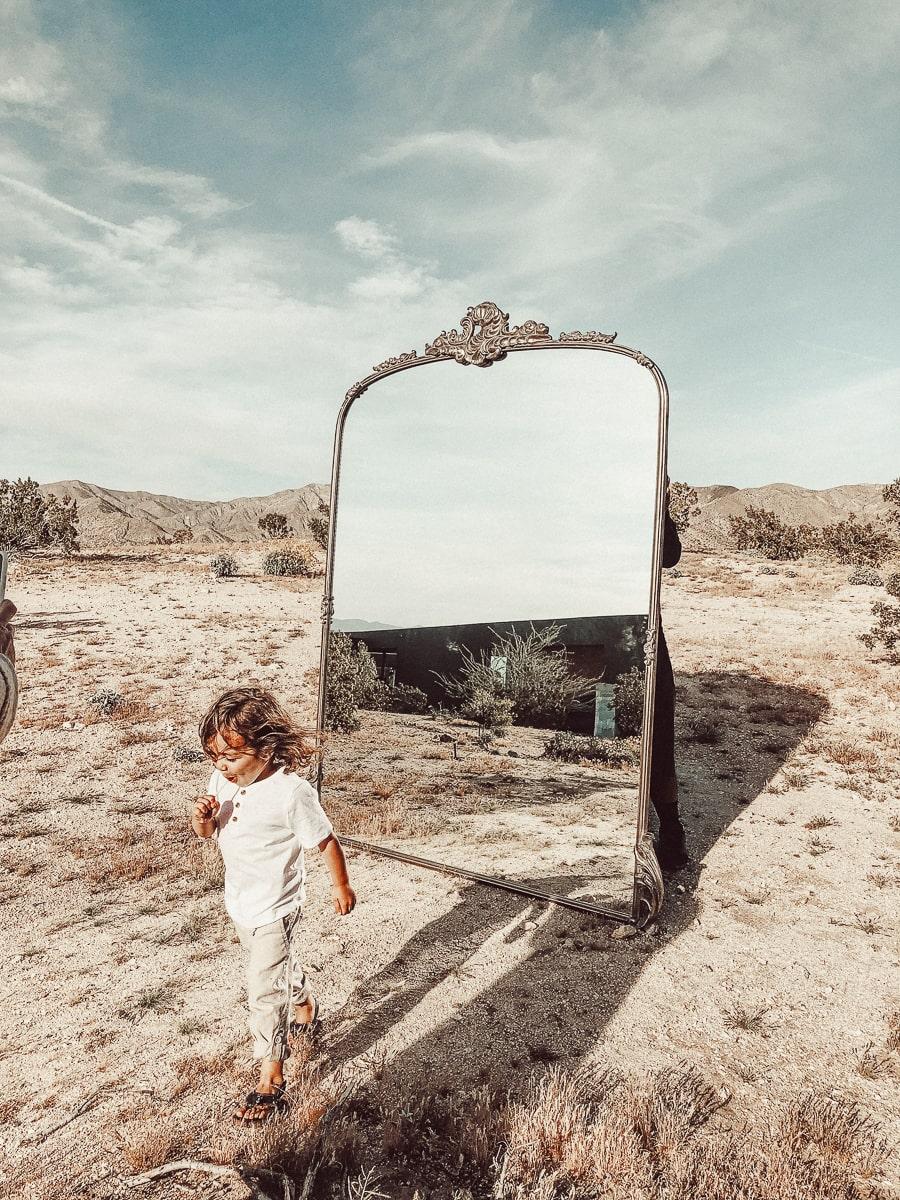 mirror desert