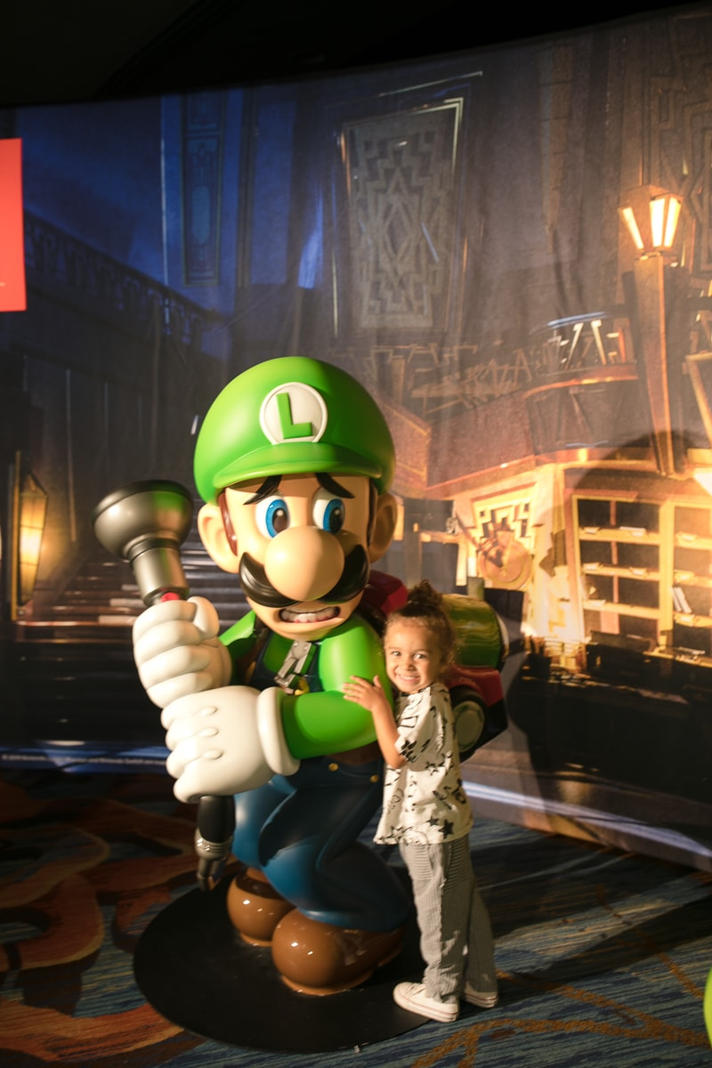 Luigi and baby