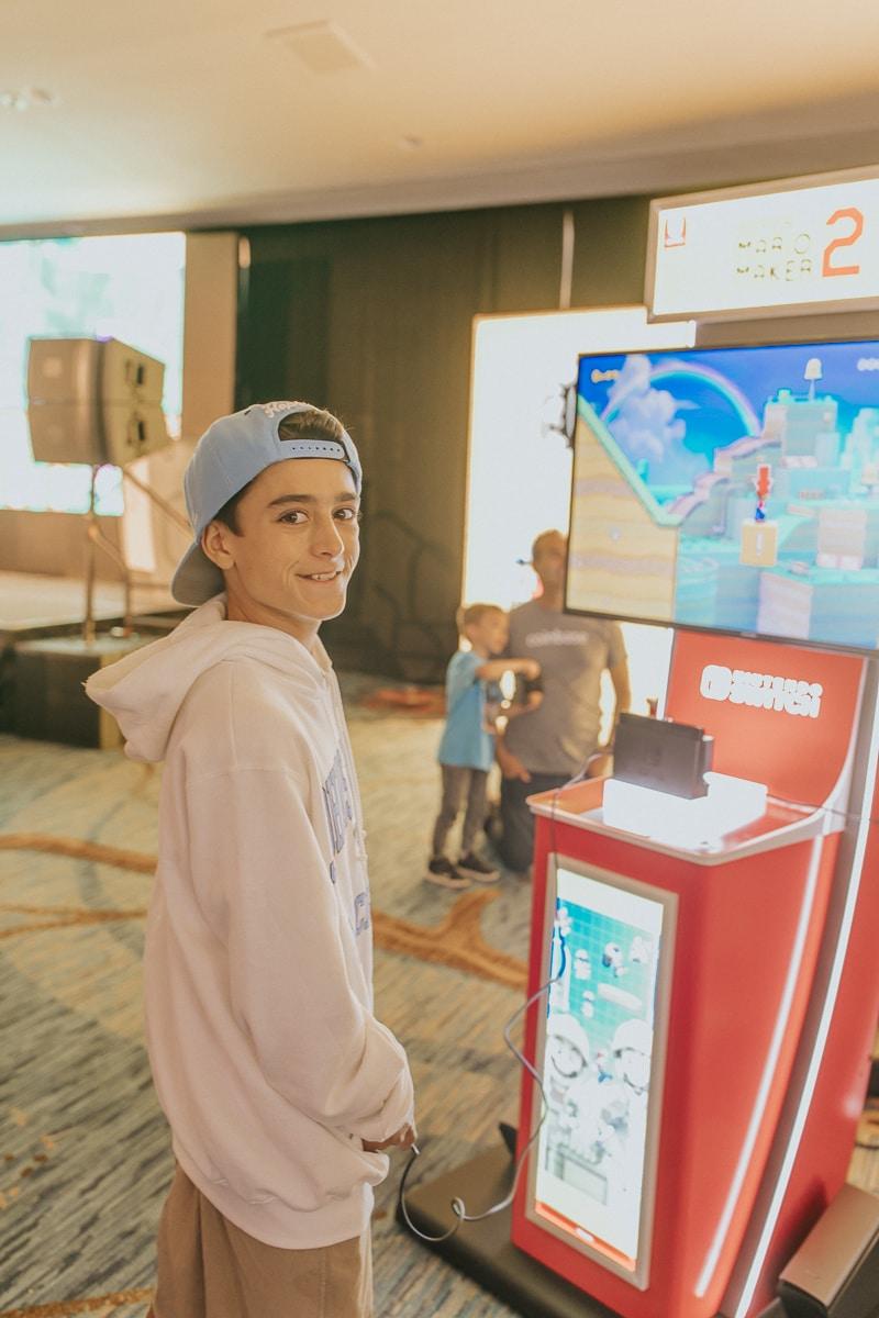 video game kid