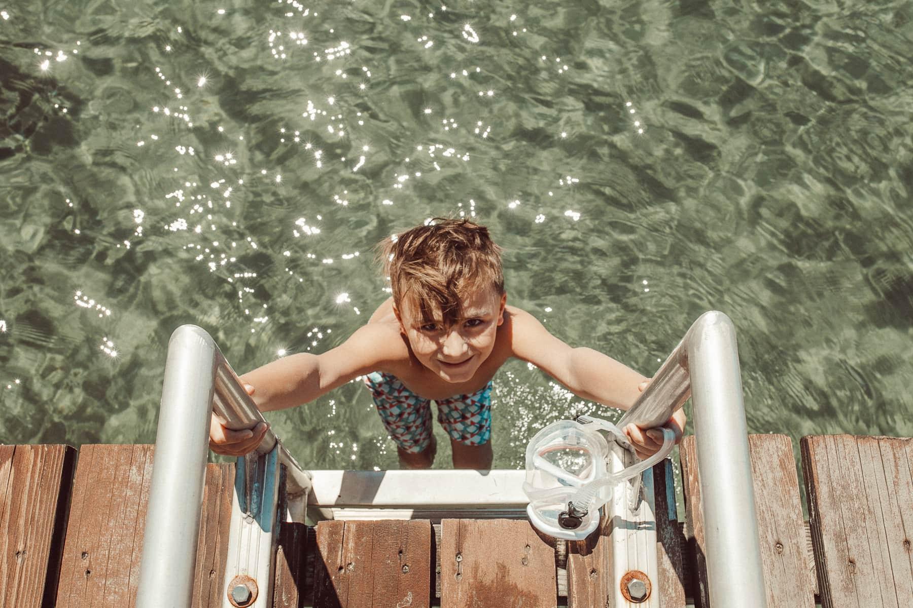 water kid