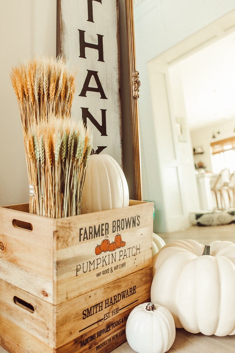 fall interior decor
