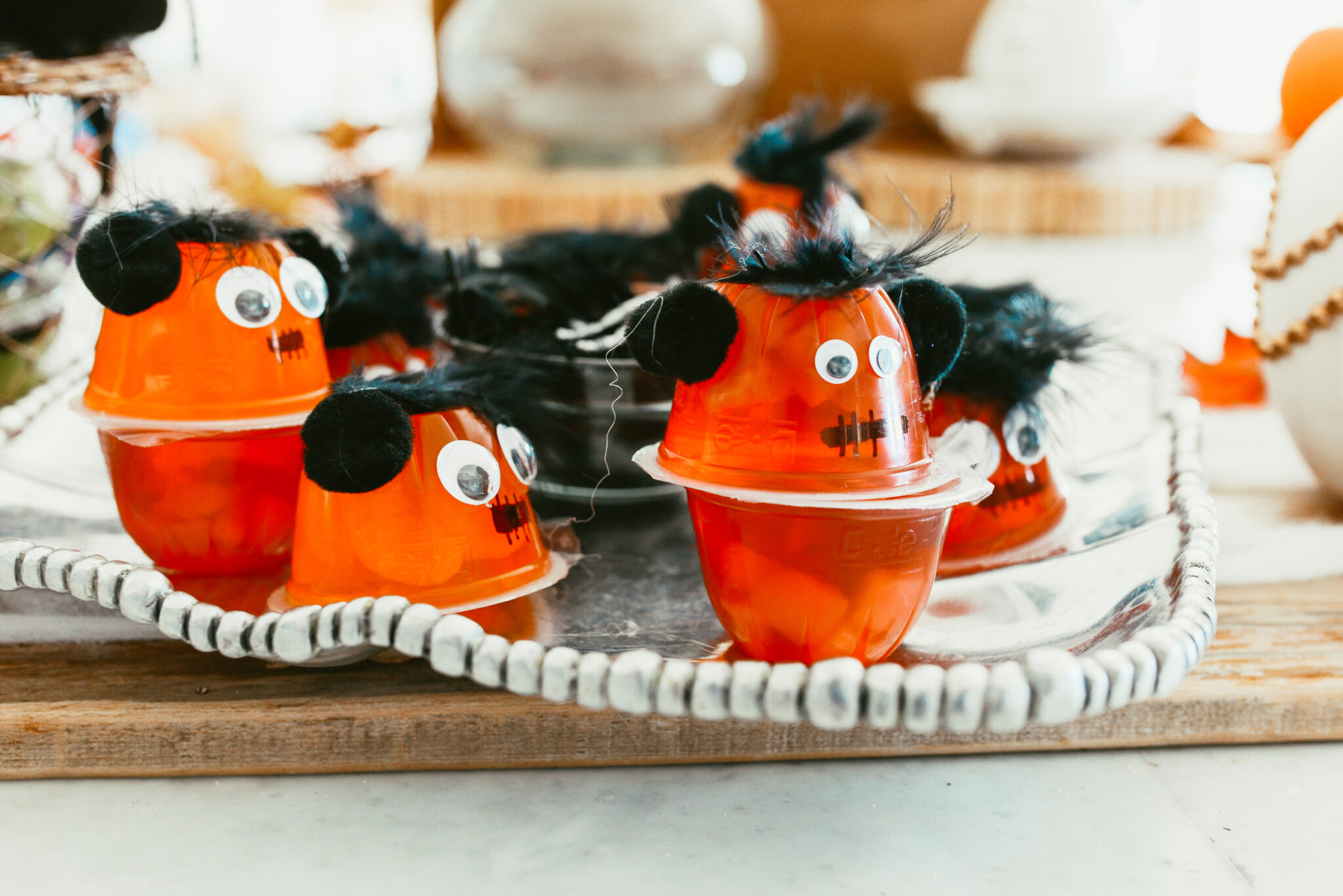 jello cup monsters