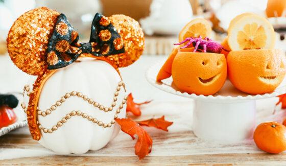 fruit pumpkin treats