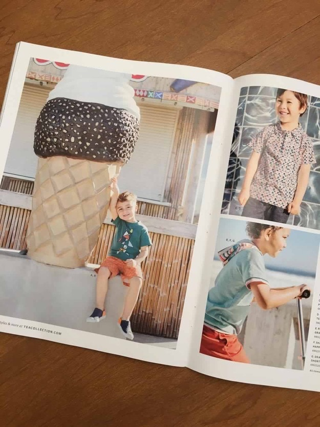 children's clothing catalog