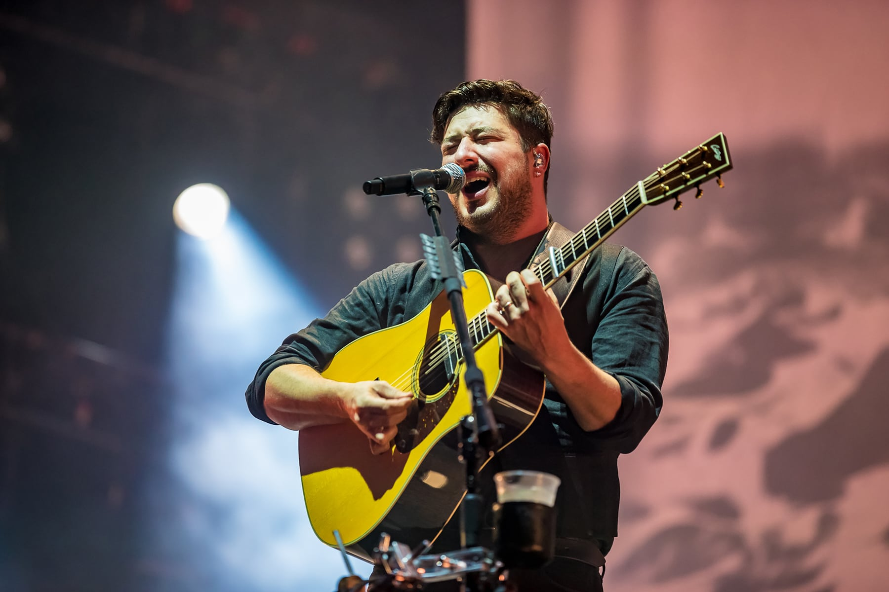 mumford & sons band onstage
