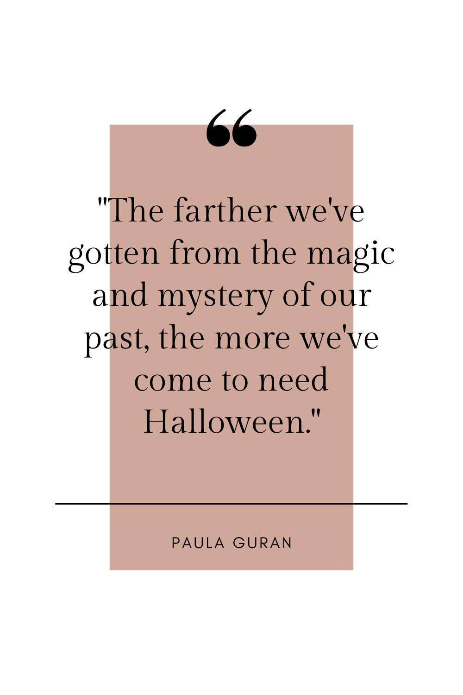 paula guran halloween quote