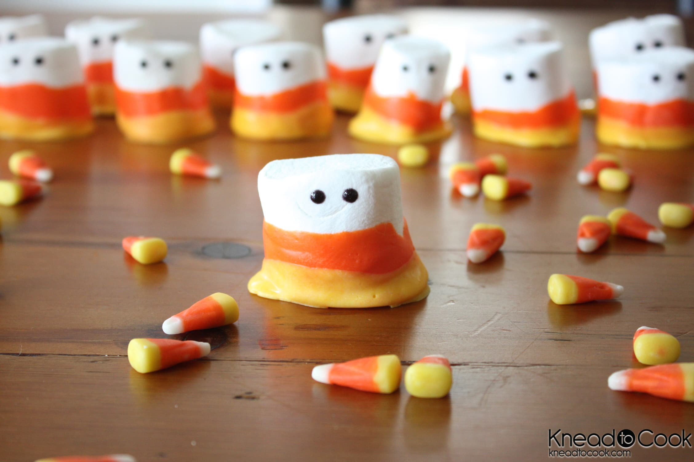 halloween candy corn marshmallows