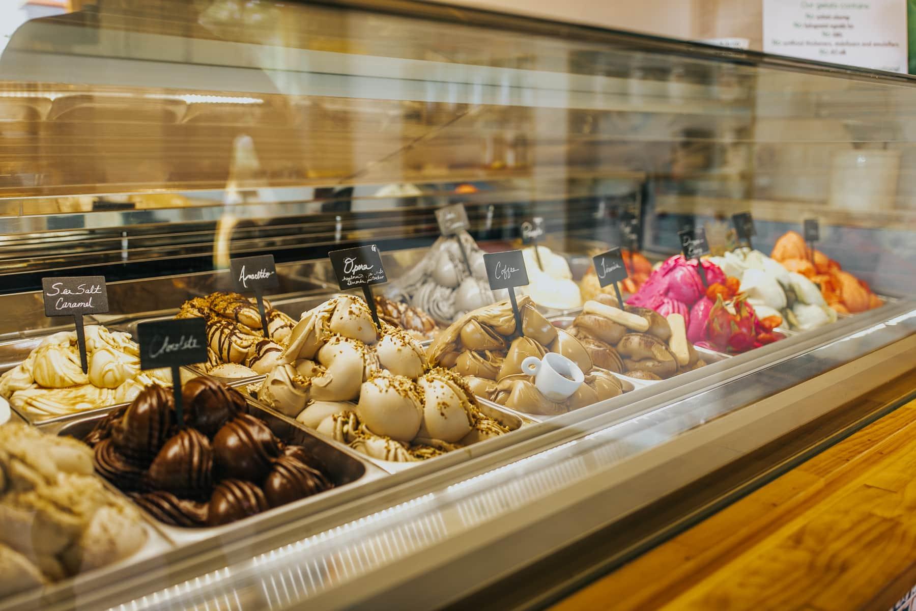 gelato flavors