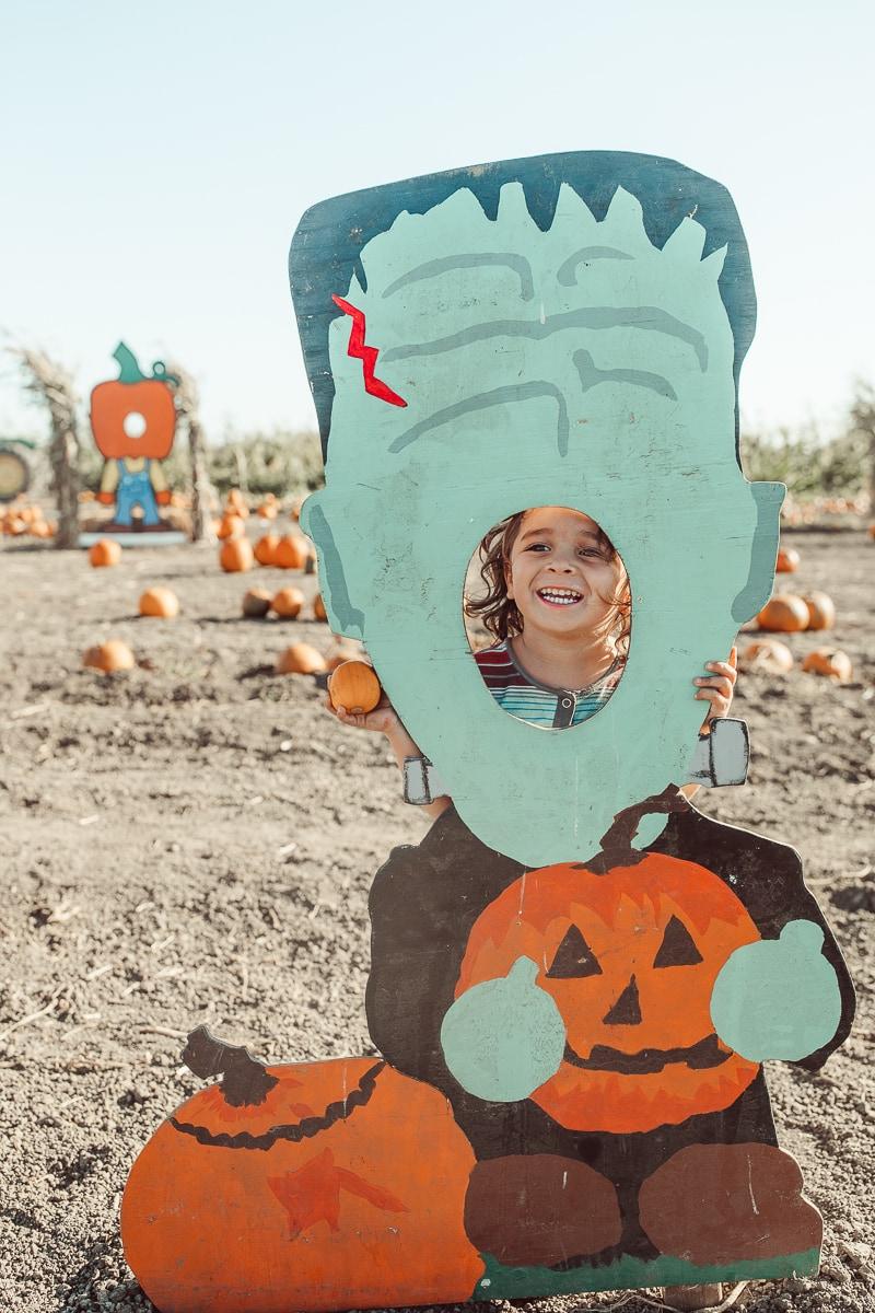 toddler halloween cutout