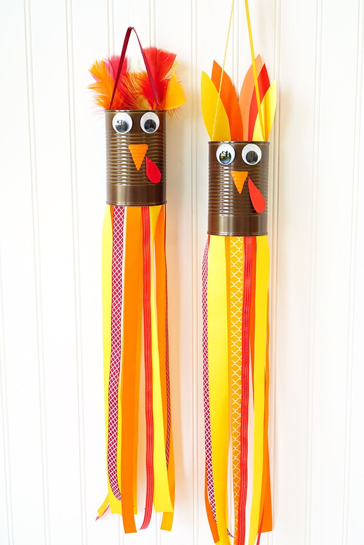 kids thanksgiving turkey crafts