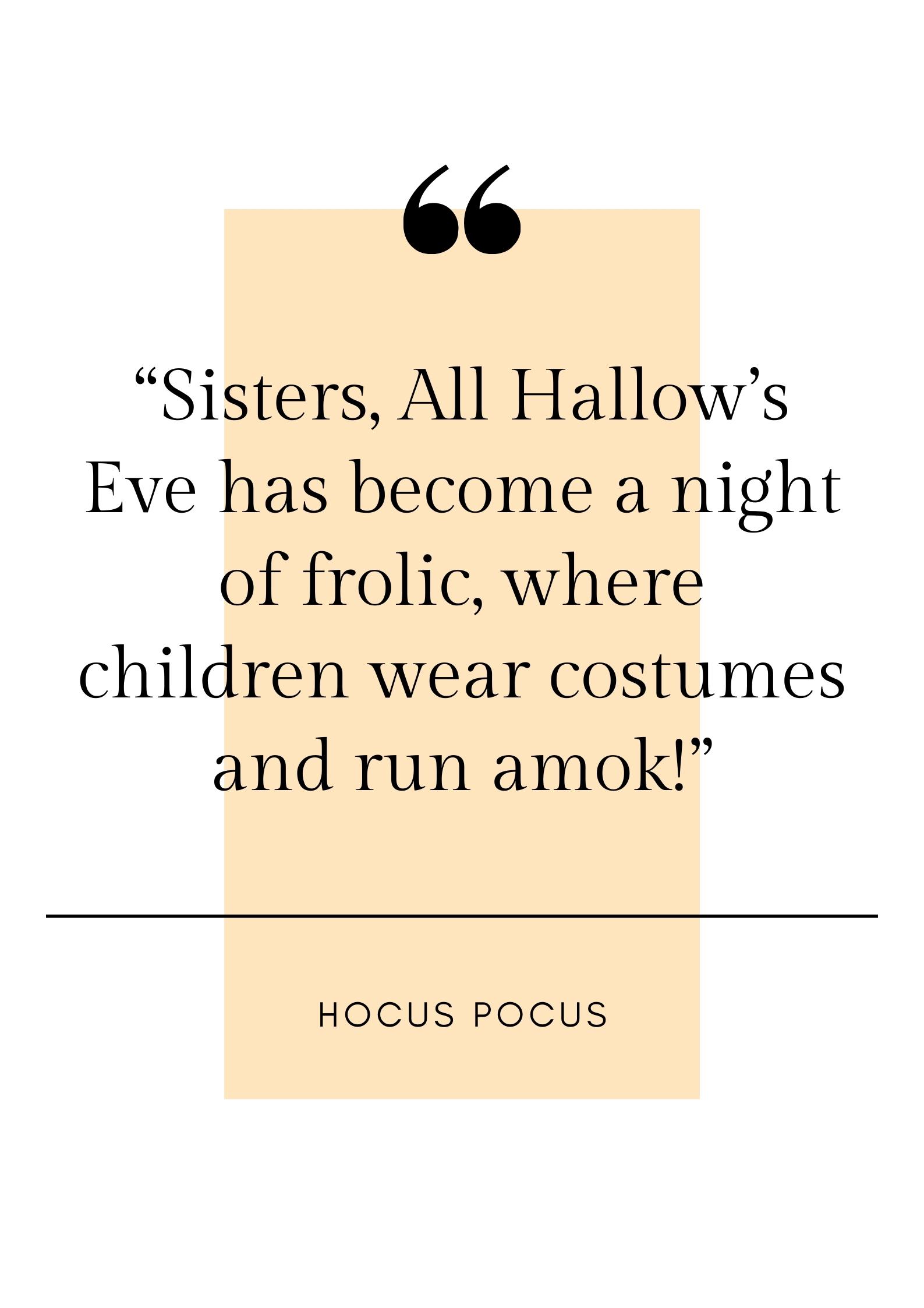 hocus pocus quote
