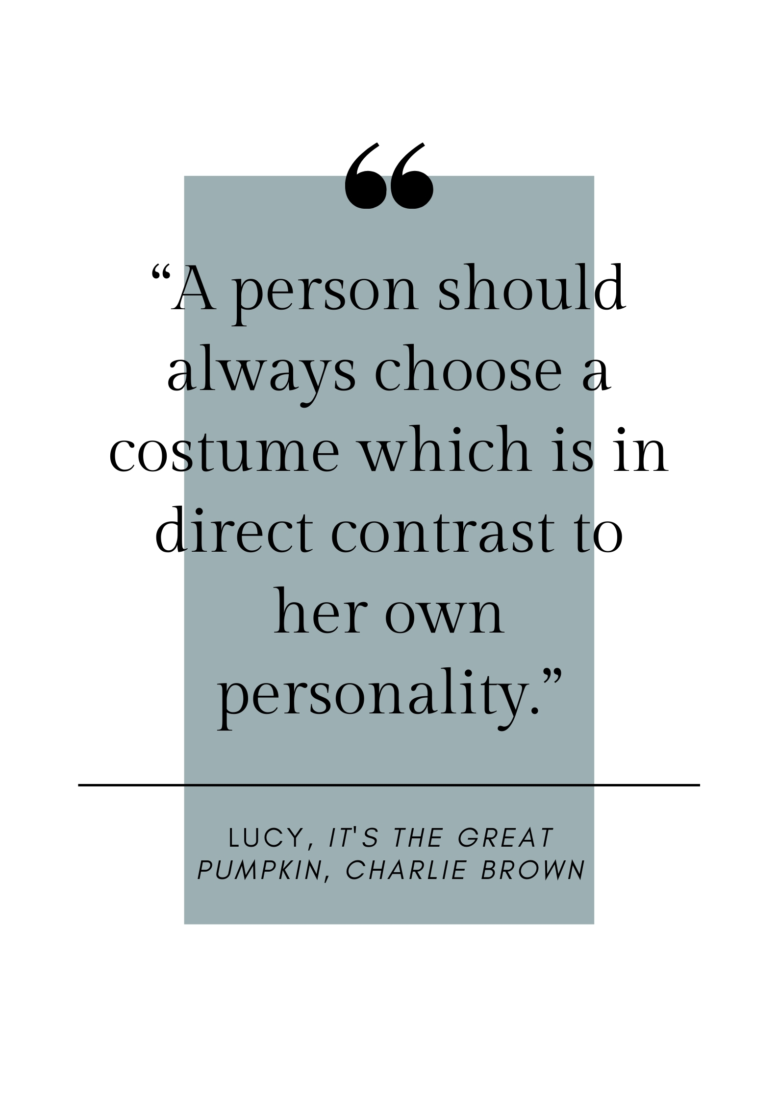 charlie brown halloween quote