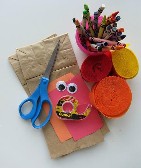 kids thanksgiving turkey craft project