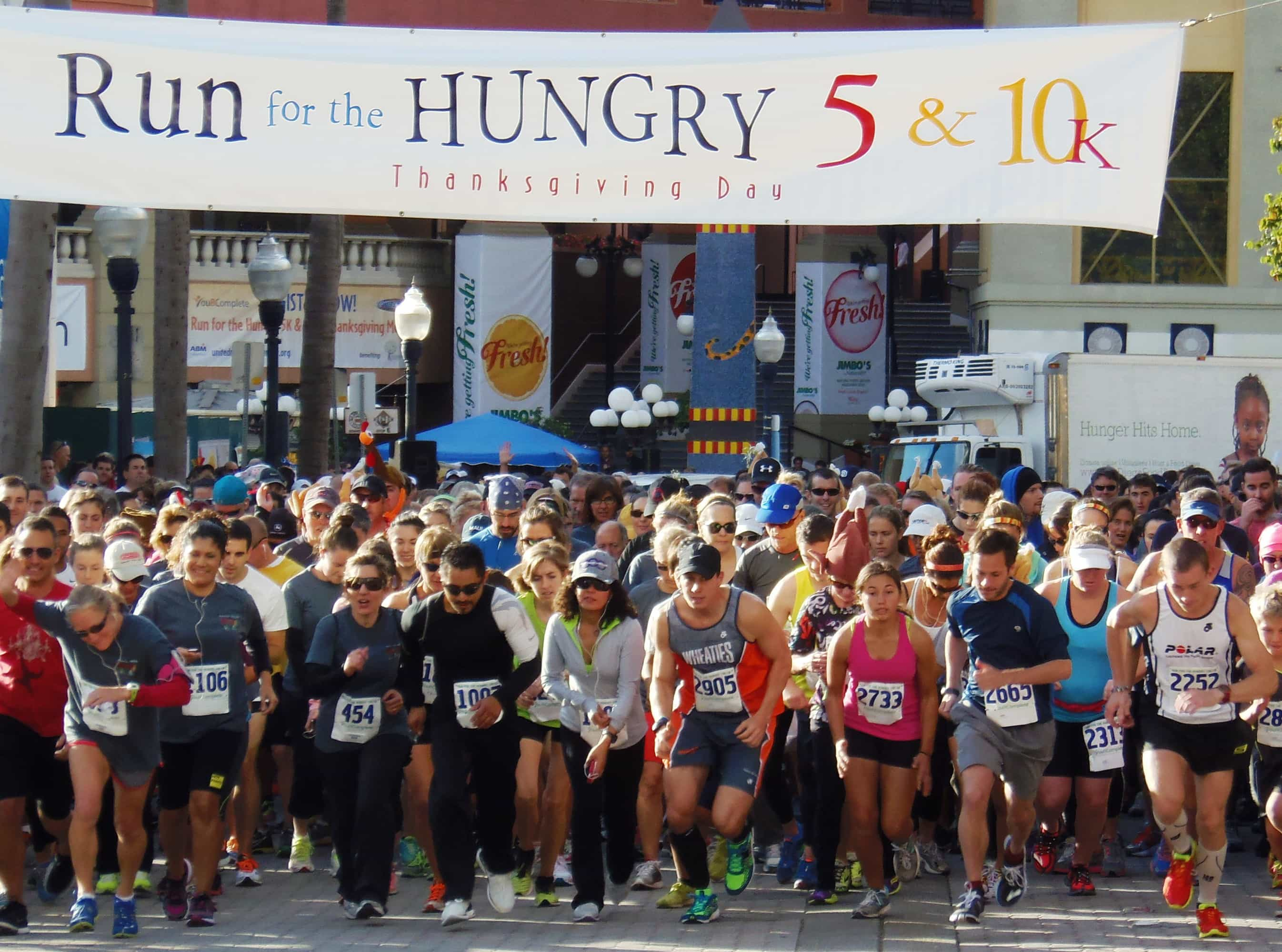 run for the hungry thanksgiving day marathon