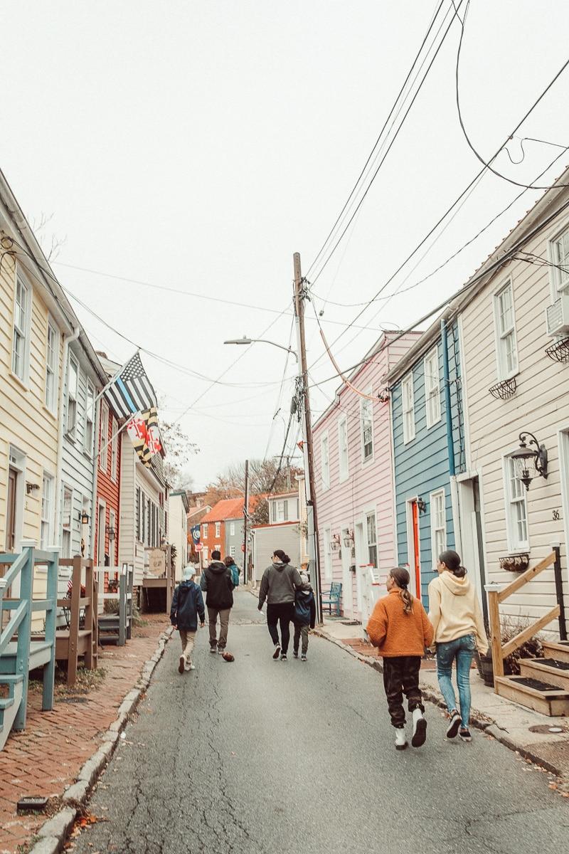 historic Annapolis street