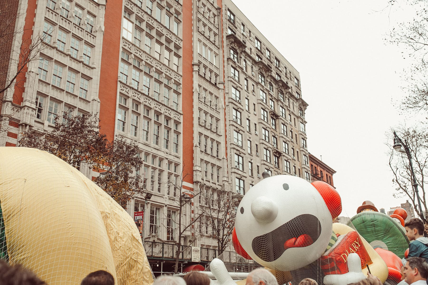 thanksgiving day parade floats