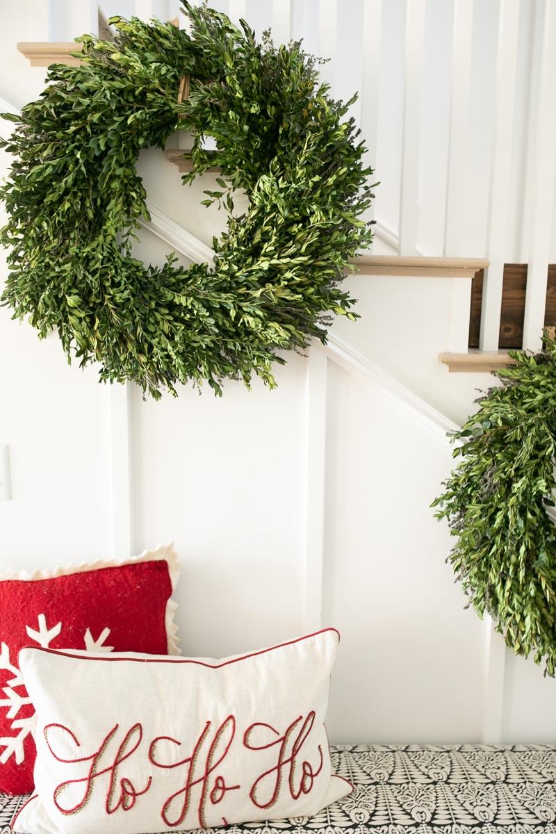 live wreaths for christmas