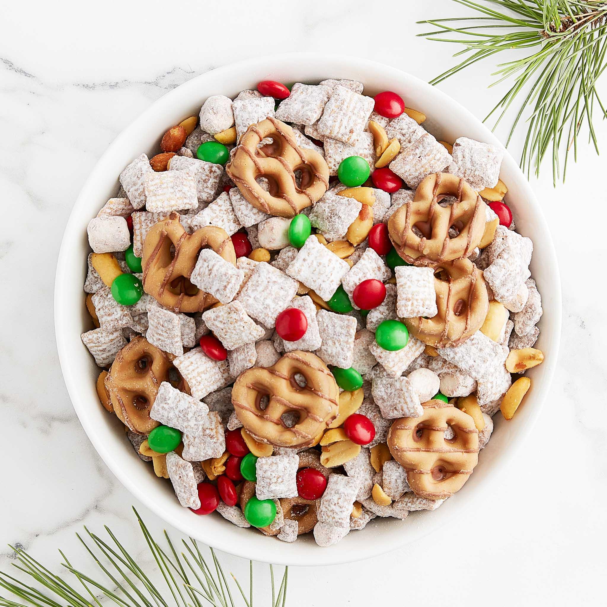 christmas chex mix