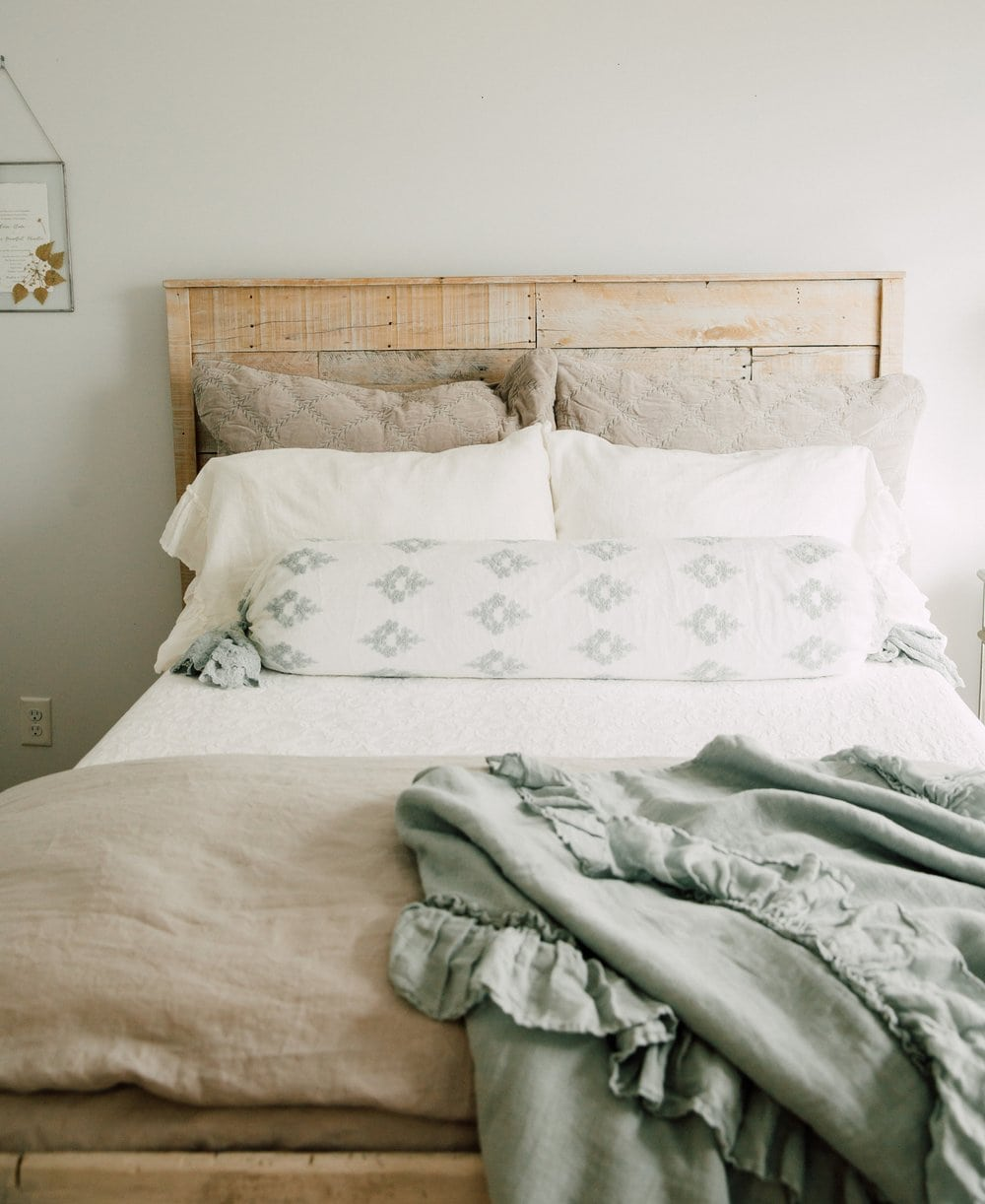 soft and cozy bed