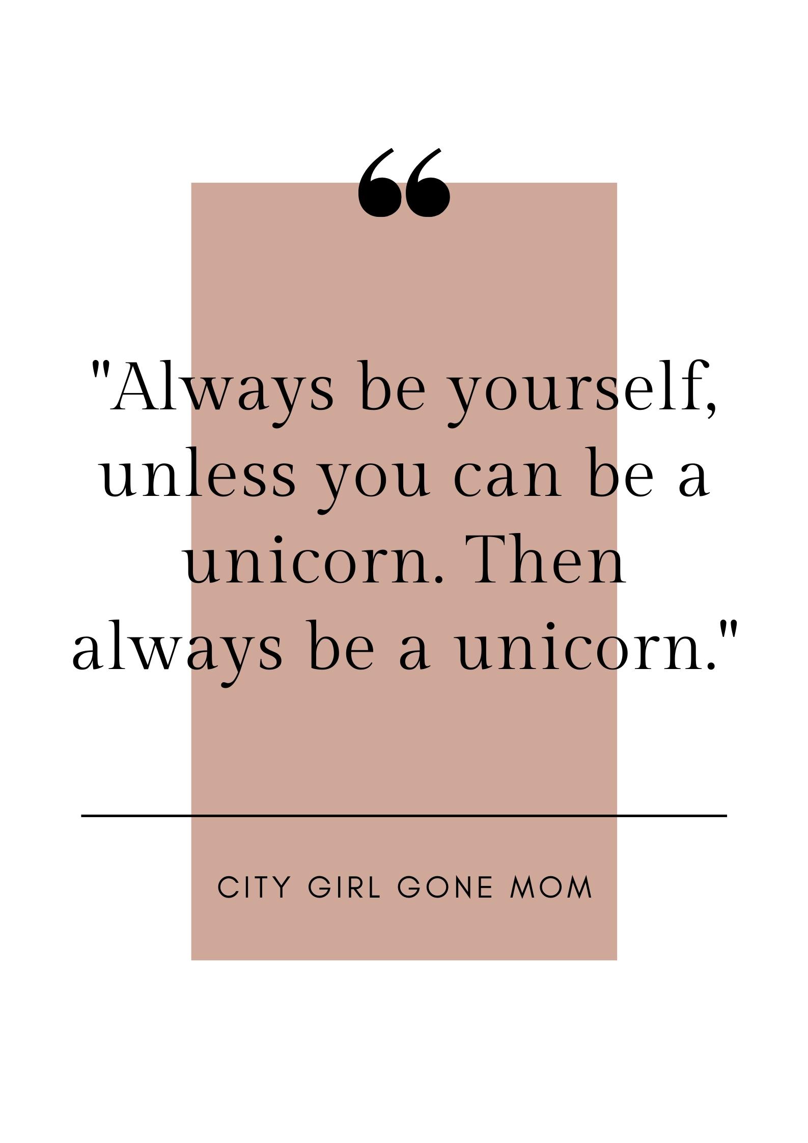 funny unicorn quote