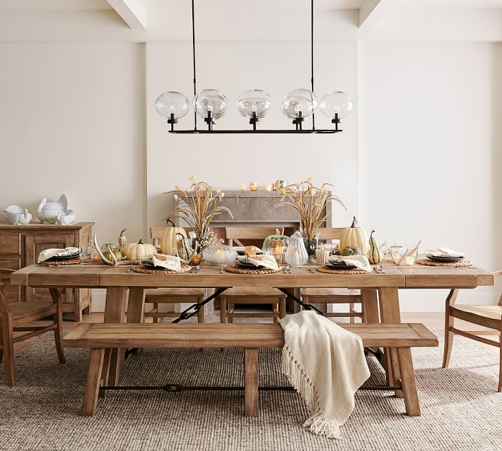 15 Farmhouse Kitchen Tables To Make Your House A Home City Girl