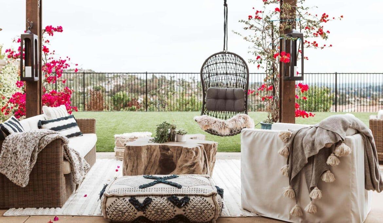 beautiful home decor outdoors