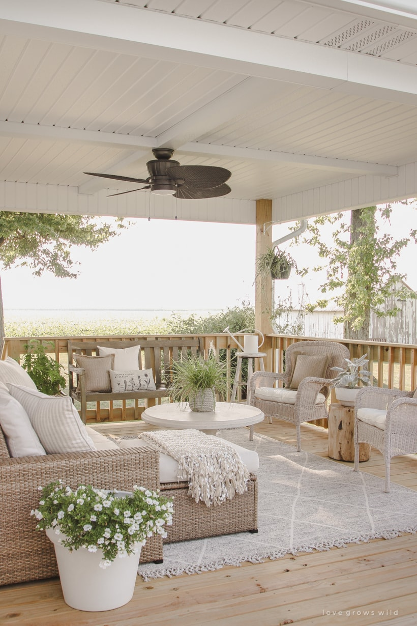 outdoor porch patio