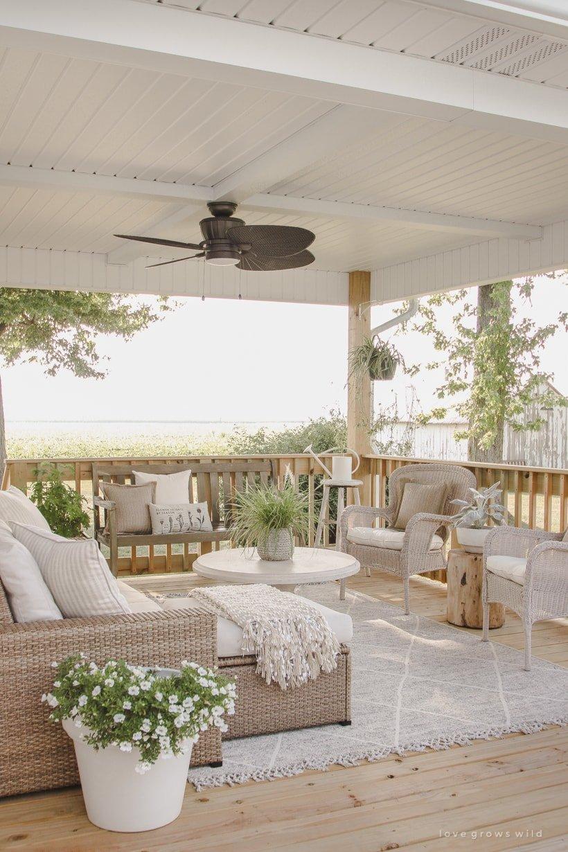 outdoor porch patio