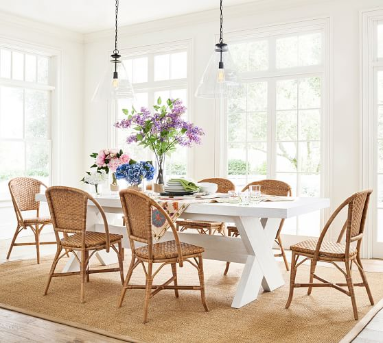 country chic dining room