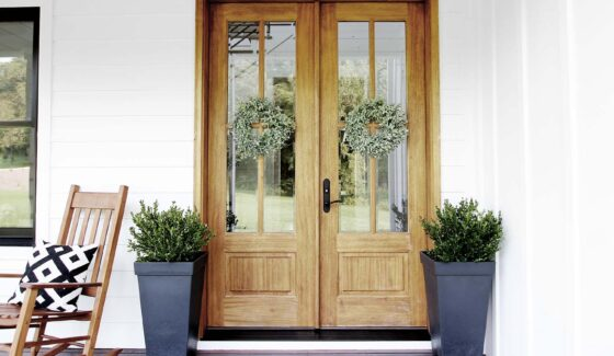 double french front door