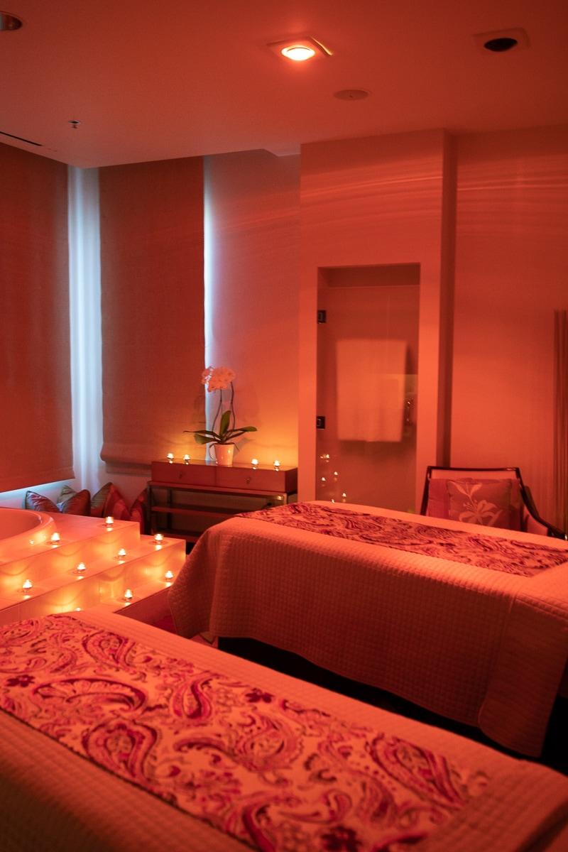 couples spa massage