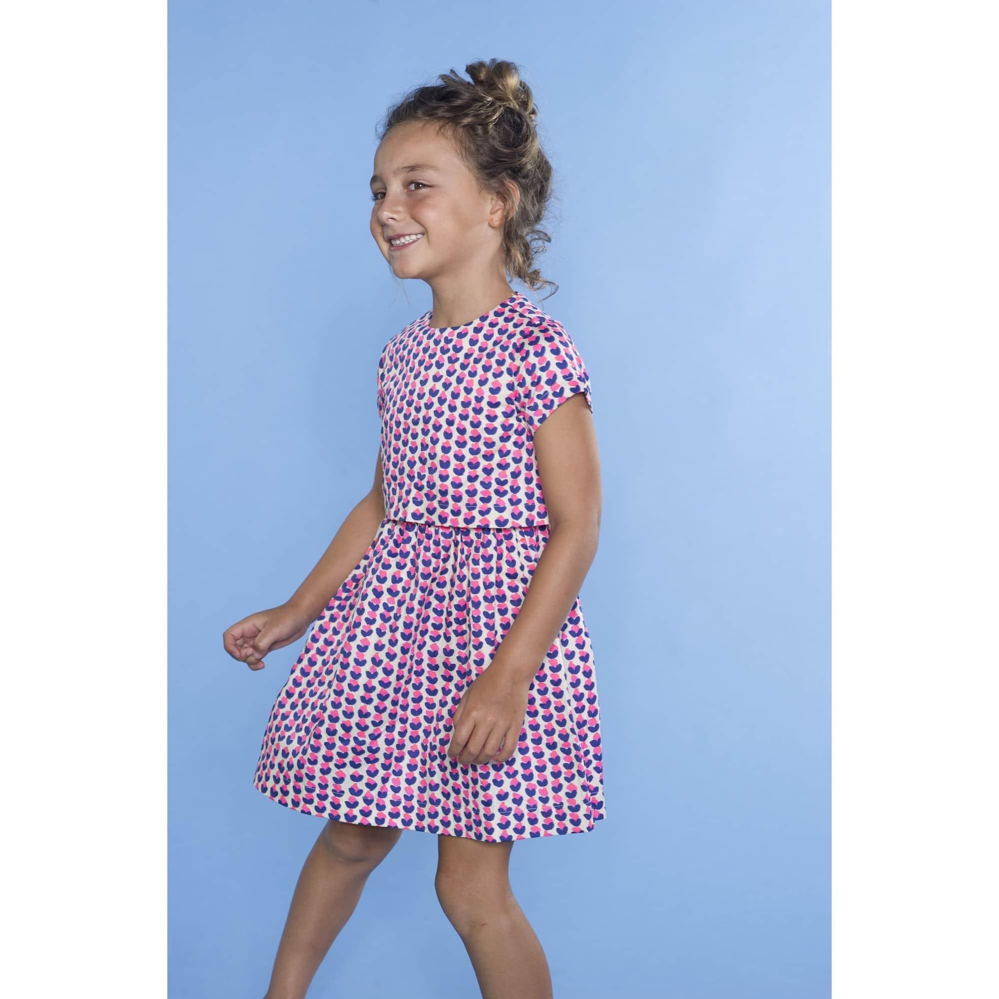 smiling child model