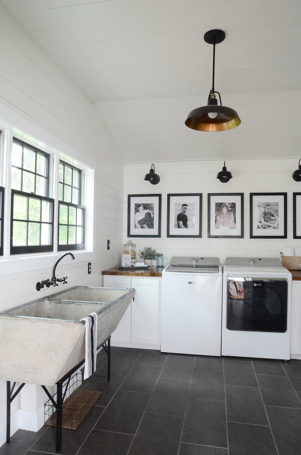 Farmhouse Ideas For The Laundry Room