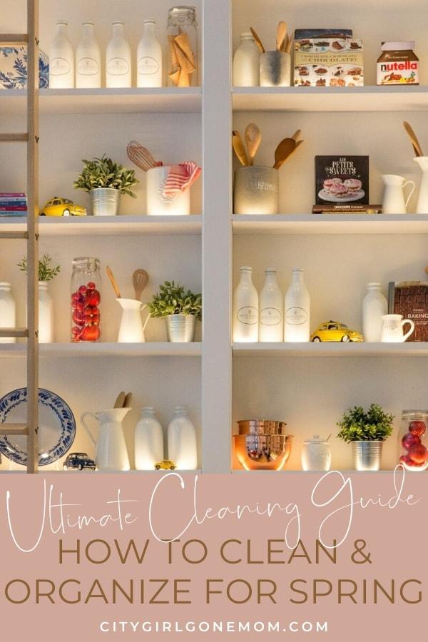 clean kitchen pantry