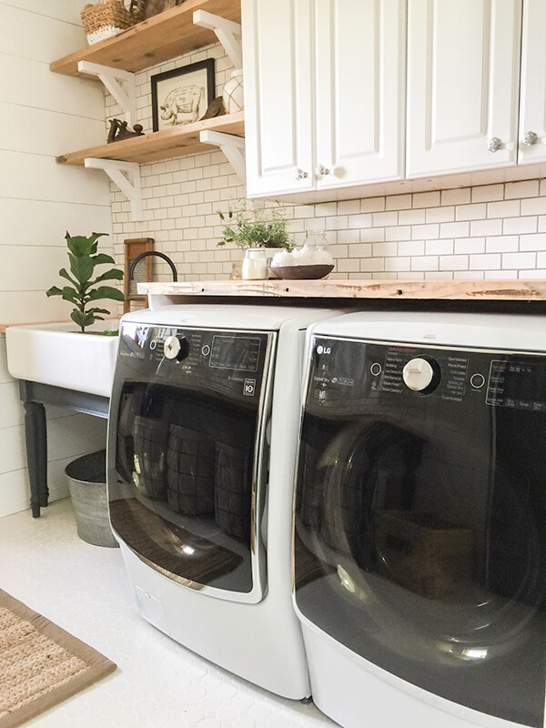 12 Amazing Farmhouse Ideas For The Laundry Room City Girl Gone Mom