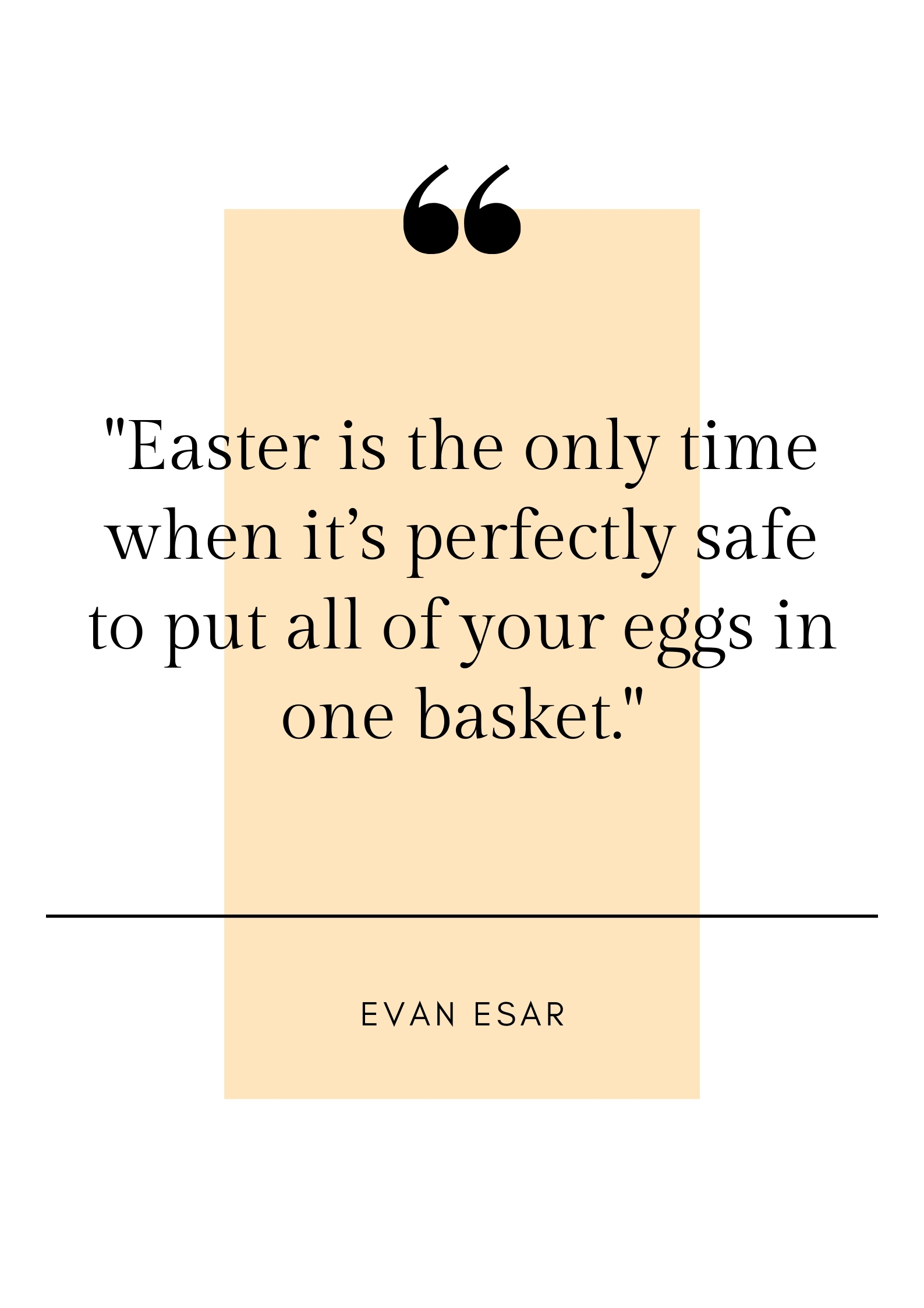 funny easter quote