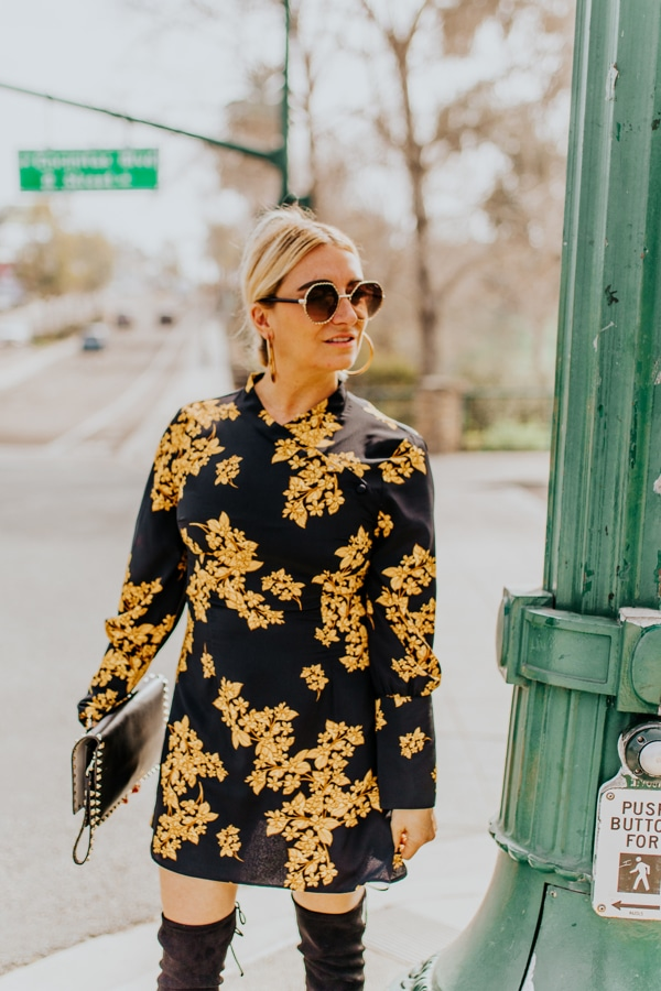 fashion woman outside