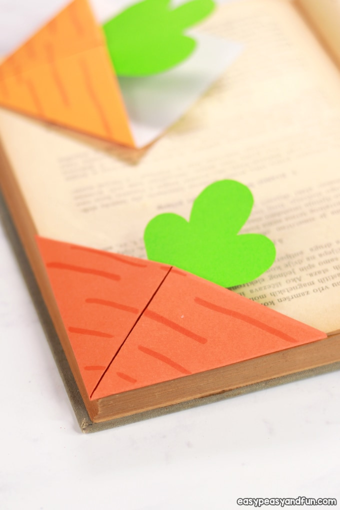 carrot bookmark