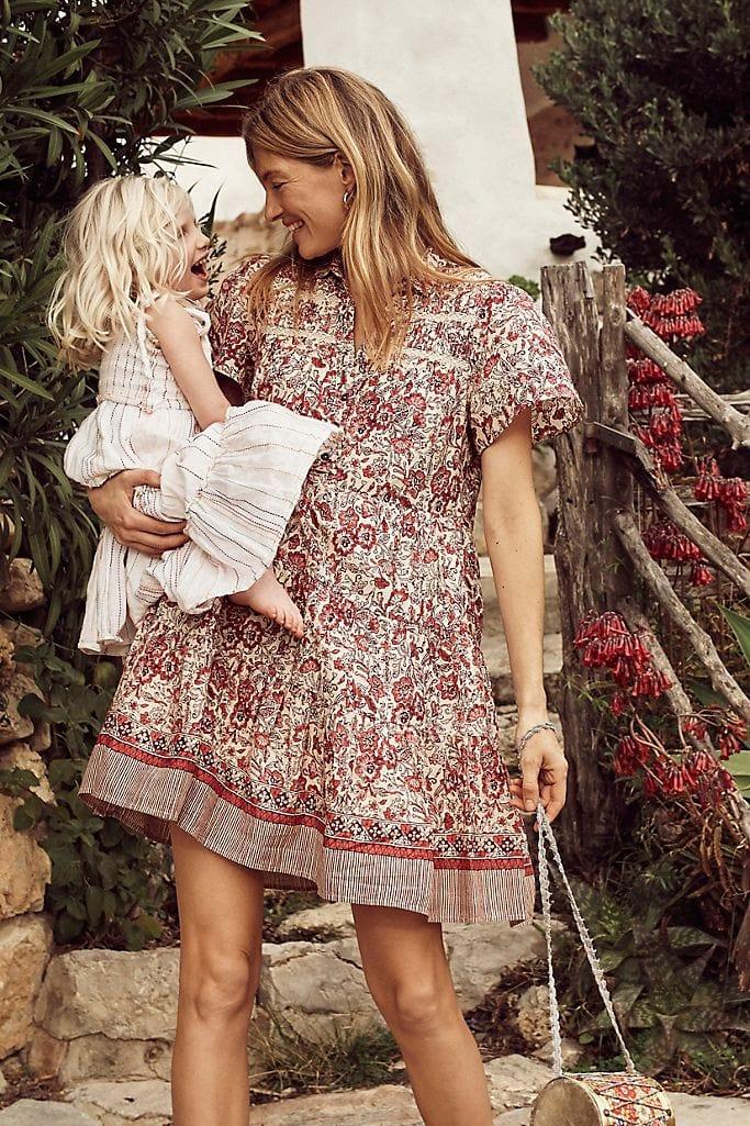 mom fashion dress