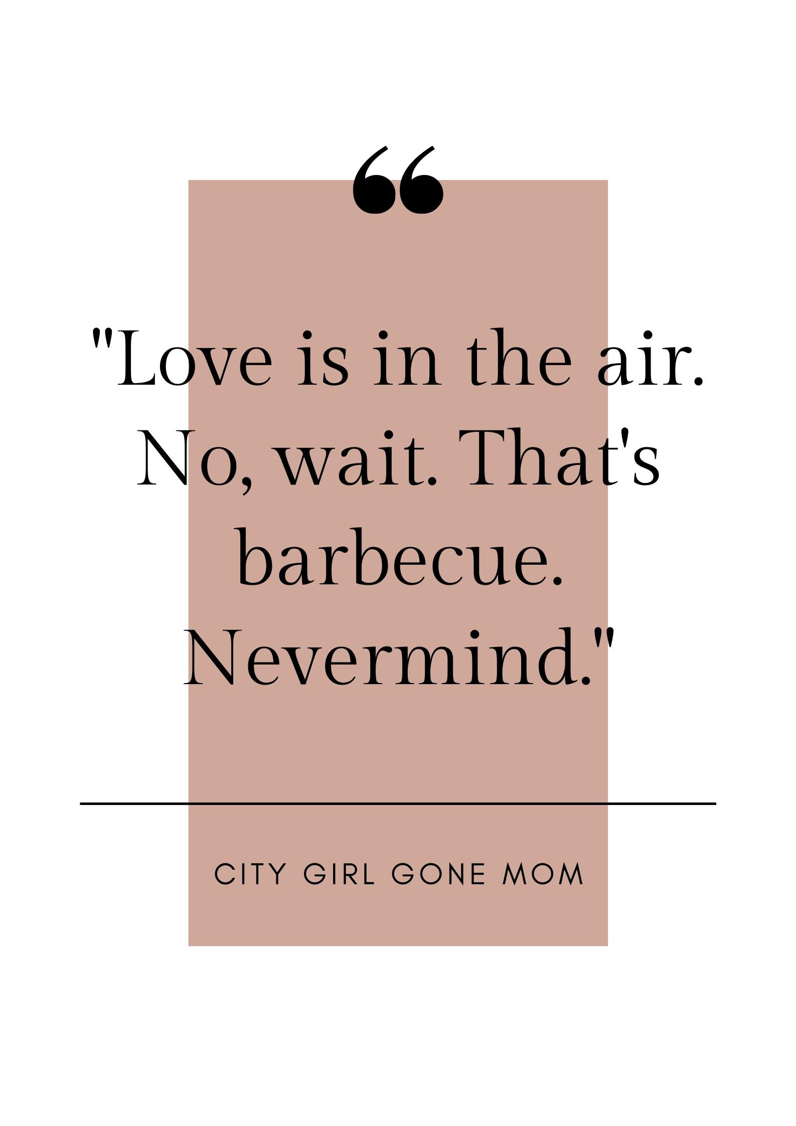 funny barbecue quote
