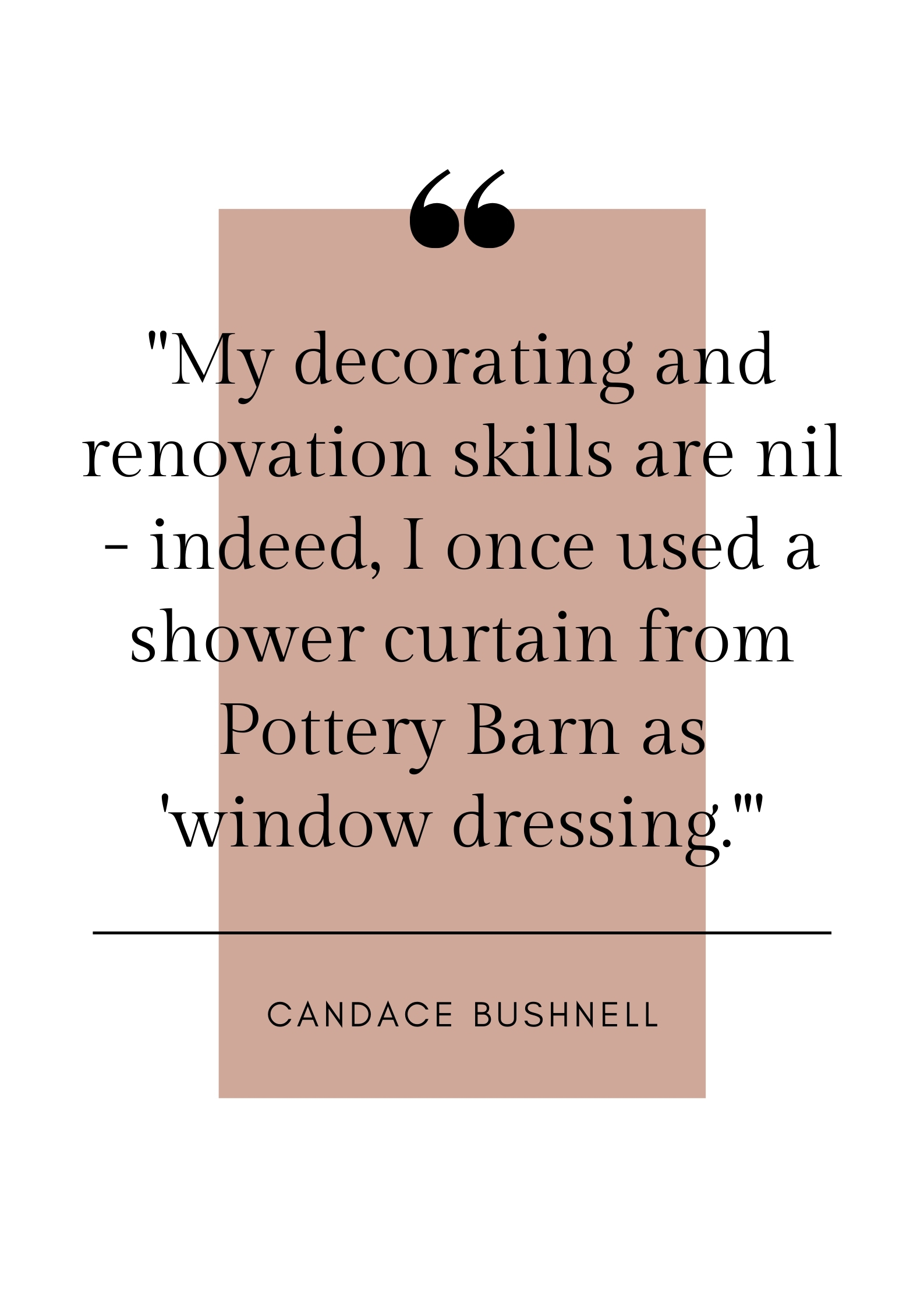 candace Bushnell quote