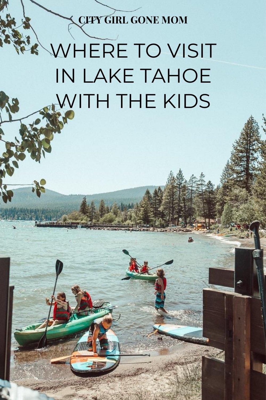 kids in lake tahoe