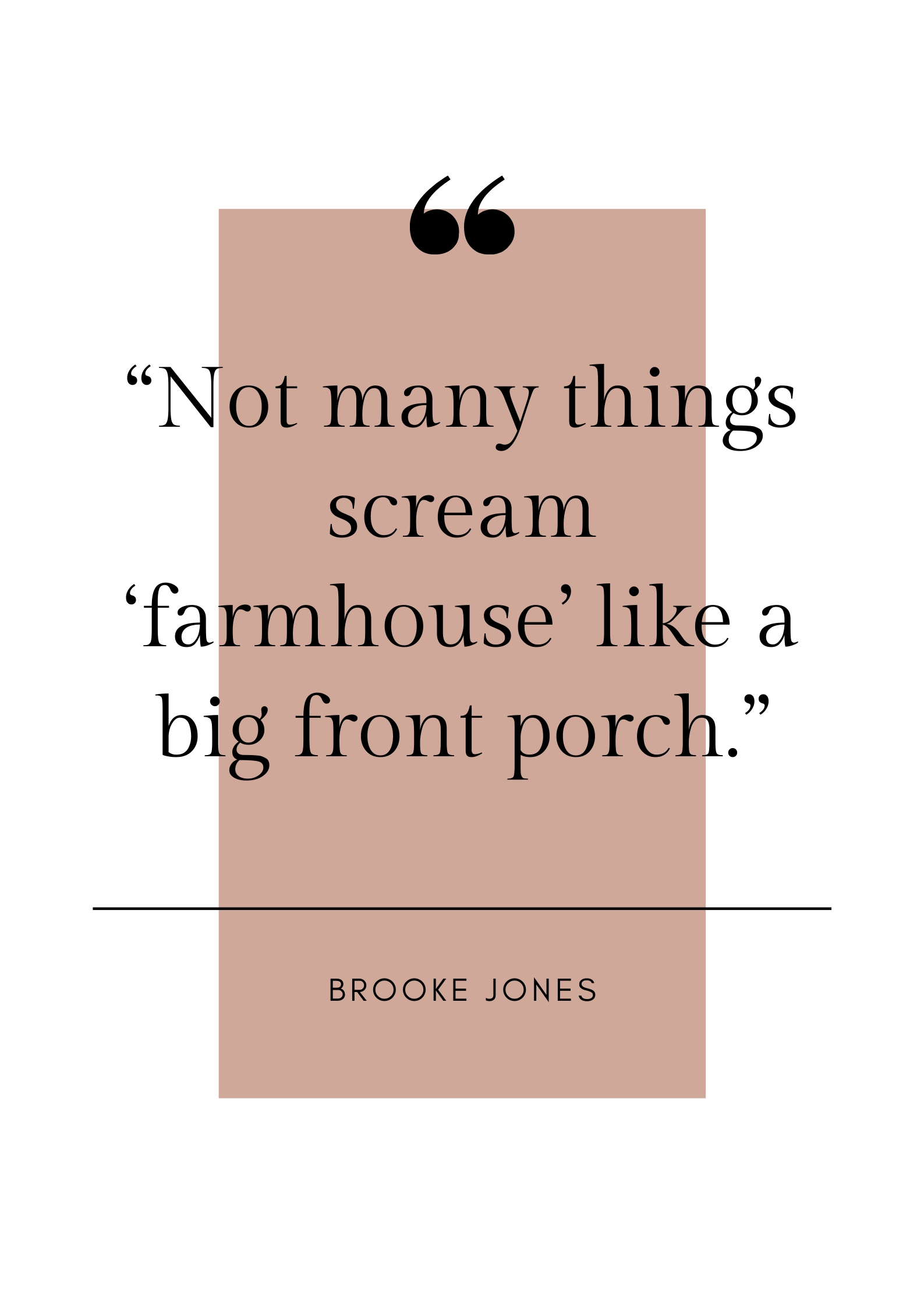 farmhouse quote